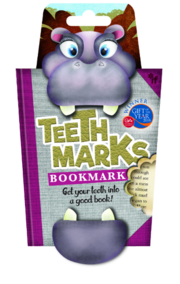 Hippo - Teeth Marks Bookmark