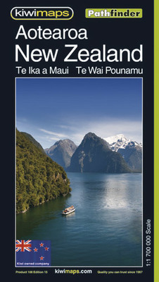 Aotearoa New Zealand Map