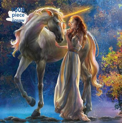 Elena Goryachkina: Sophia and the Unicorn Jigsaw: 1000 piece jigsaw