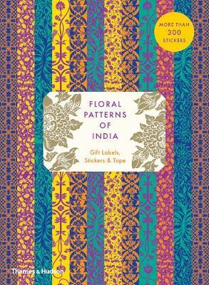 Floral Patterns of India Gift Labels, Stickers and Tape