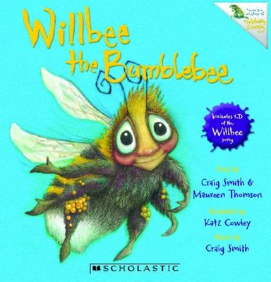Willbee the Bumblebee Book & CD
