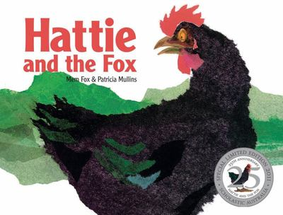 Hattie and the Fox (25 Anniversay Edition) (PB)