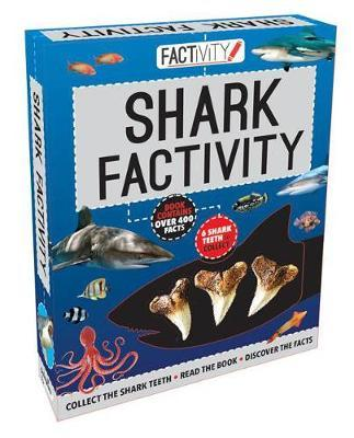 Factivity Shark Factivity: Collect the Shark Teeth, Read the Book, Discover the Facts