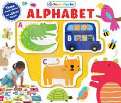 Alphabet Puzzle Playset (Board Book Box Set)