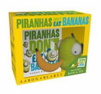 Piranhas Don't Eat Bananas Mini HB + Plush