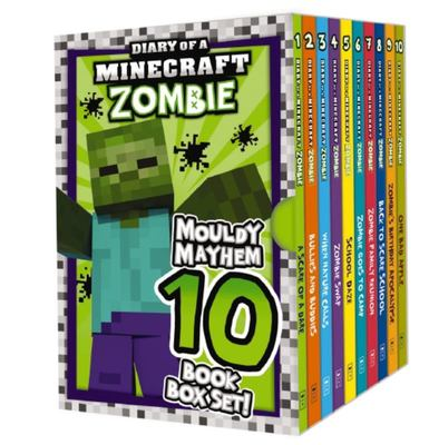 Mouldy Mayhem Box Set (Diary of a Minecraft Zombie #1-10)
