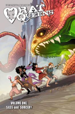 Sass & Sorcery (Rat Queens #1)