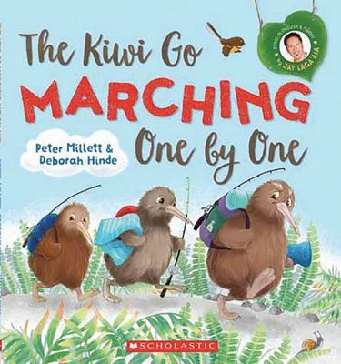 The Kiwi Go Marching One by One (Book & CD)