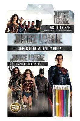 DC Comics: Justice League Activity Bag