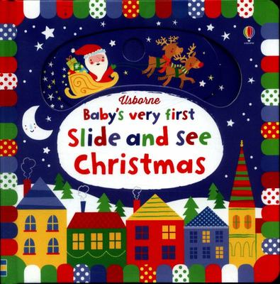 Baby's Very First Slide And See Christmas - Xmas Stock