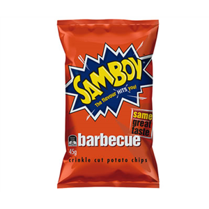 Samboy Barbeque Chips