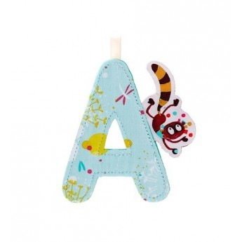 Fabric Letter A - Georges