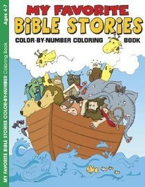 My Favorite Bible StoriesColor-by-Number Coloring Book