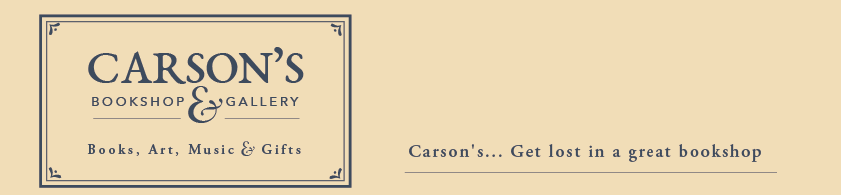 Original carsons header logo text