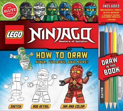 How to Draw Ninja, Villains and More (LEGO Ninjago)