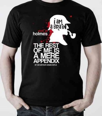 Sherlock Holmes T-shirt, Small