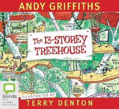 The 13-Storey Treehouse (Audio CD)