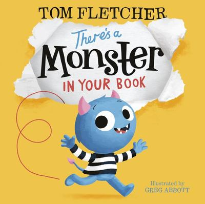 There's a Monster in Your Book (PB)