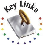 Large key links logo