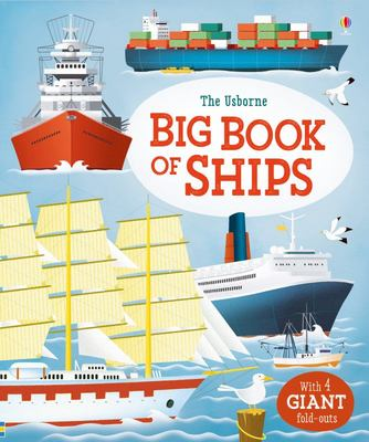 Usborne Big Book of Ships (Board Book)