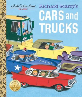Richard Scarry's Cars and Trucks (LGB Little Golden Book)