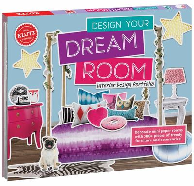 Design Your Dream Room: Interior Design Portfolio (Klutz)