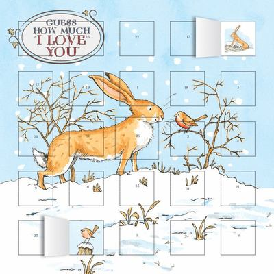 Guess How Much I Love You advent calendar (with stickers) FLT CAL2018