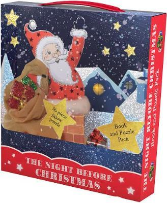 The Night Before Christmas Book & Puzzle Pack (Xmas Stock)