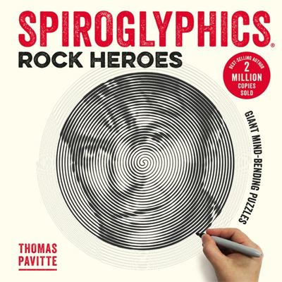Spiroglyphics: Rock Heroes Colour and Reveal Your Musical Heroes in These 20 Mind-bending Puzzles
