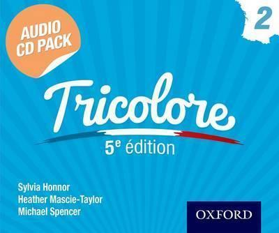 Tricolore 5e edition Audio CD Pack 2