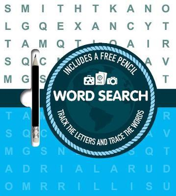 Word Search: Track the Letters and Trace the Words
