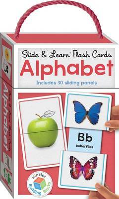 Building Blocks Slide & Learn Flashcards Alphabet (UK Eng)