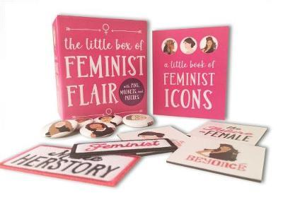 The Little Box of Feminist Flair With Pins, Patches, & Magnets