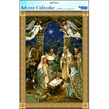 Advent Calendar: Silent Night with Bible Text