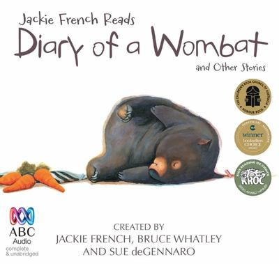 Diary of a Wombat & other stories  (Audio CD)