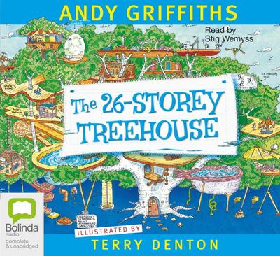 The 26-Storey Treehouse (Audio CD)