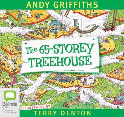 The 65-Storey Treehouse (Audio CD)