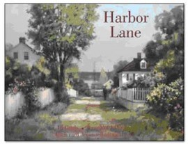Large harbour lane note cards.270