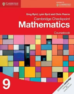 Cambridge Checkpoint Mathematics Mathematics Coursebook 9