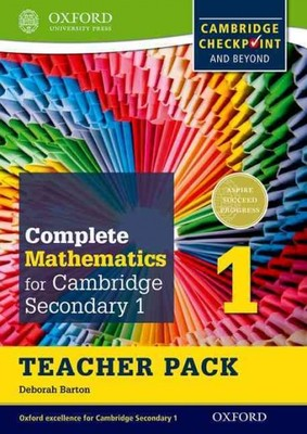 Complete Mathematics for Cambridge Secondary 1, Teacher Pack 1: For Cambridge Checkpoint and Beyond
