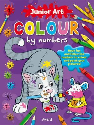 Colour By Numbers: Cat (Junior Art #1)