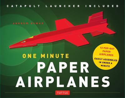 One Minute Paper Airplanes Kit: 12 Pop-Out Planes Easily Assembled in Under a Minute