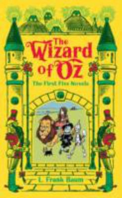 The Wizard of Oz : The First Five Novels Barnes & Noble (Leather bound)