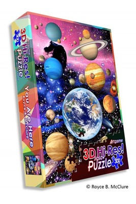 You Are Here 3D Jigsaw Puzzle