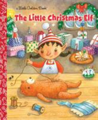 Little Christmas Elf (Little Golden Book)