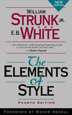 Elements of Style (4th revised edition)