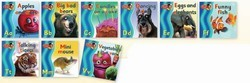 Funny Photo Phonics: 15 Readers - Short Vowels and Common Sounds: Set 1
