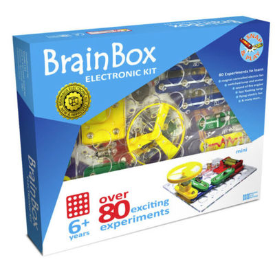 Brain Box Metal Detector - 80 Experiments, Age 6+