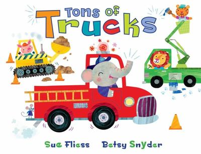 Tons of Trucks (Board Book)