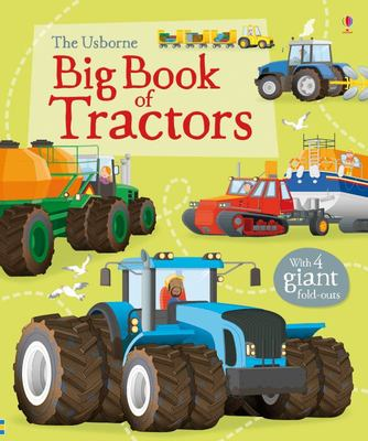 Usborne Big Book of Tractors (Board Book)